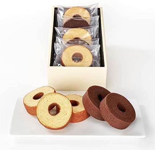 定番人気の引き菓子「バウムクーヘン」