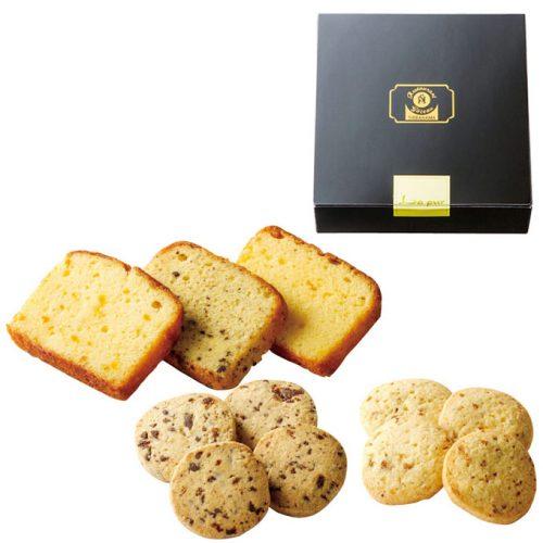 2種類の美味しさを楽しめる引き菓子「パウンドケーキとクッキーのセット」